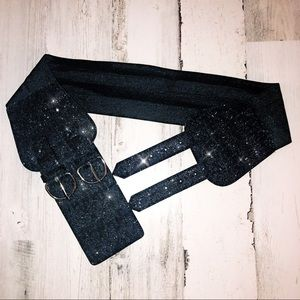 Accessories - 🆕Glitter & Lace Cinched Waist Belt